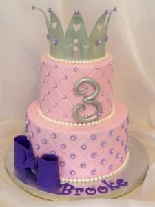 Crown Princess 21st Birthday Cake