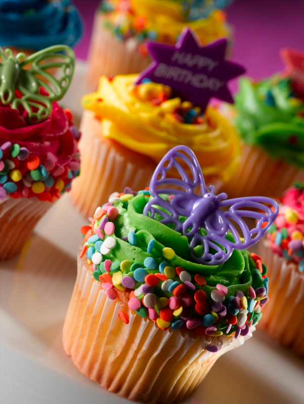 Cake Designs Using Cupcakes : Cupcake Birthday Cake Ideas Best Birthday Cakes