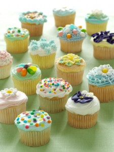 Cute Birthday Cupcake Designs