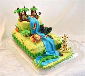 Cute Jungle Cakes Jungle Theme Cakes