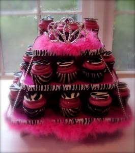 Cute Zebra Cupcake