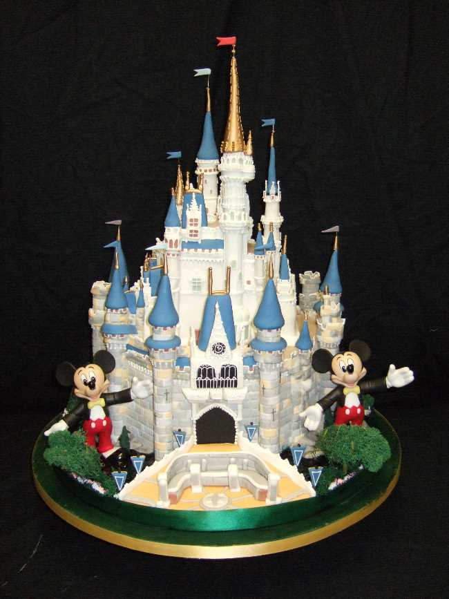 Peachy Disney Castle Wedding Cakebest Birthday Cakesbest Birthday Cakes Personalised Birthday Cards Beptaeletsinfo