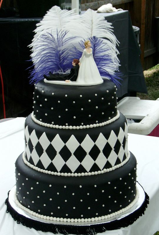 Elegant Fondant Wedding Cakes  Best Birthday Cakes