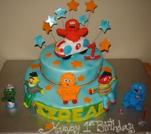 Elmo Specialty cake
