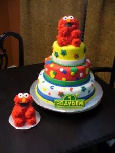 Elmo Wedding Cakes