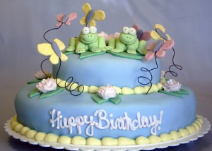 Fondant Birthday Cake Recipes