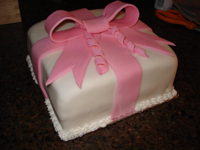 Fondant Cake Decorating