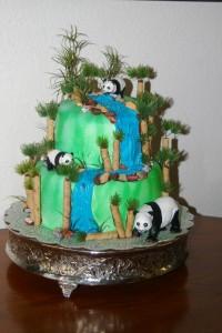 Fondant Cake Topper Panda Bear