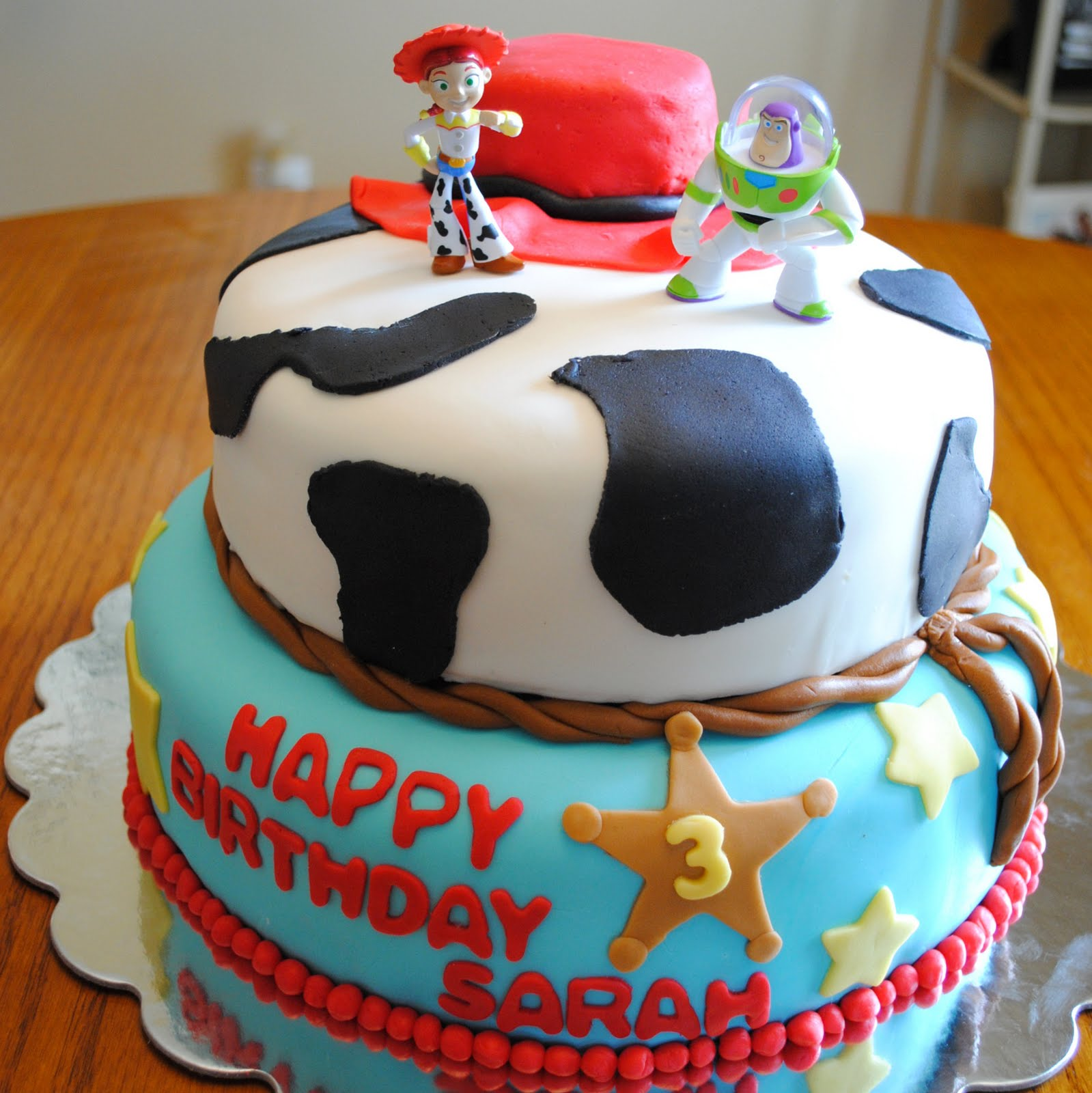 Fondant Toy Story Birthday Cake Best Birthday Cakes