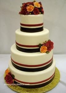 Fondant Wedding Wedding Cakes