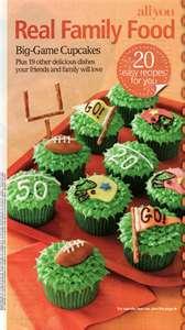 Football Cupcakes Recipe