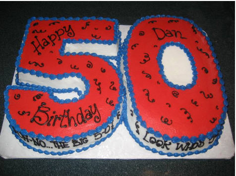Fun 50th Birthday Cake Ideas