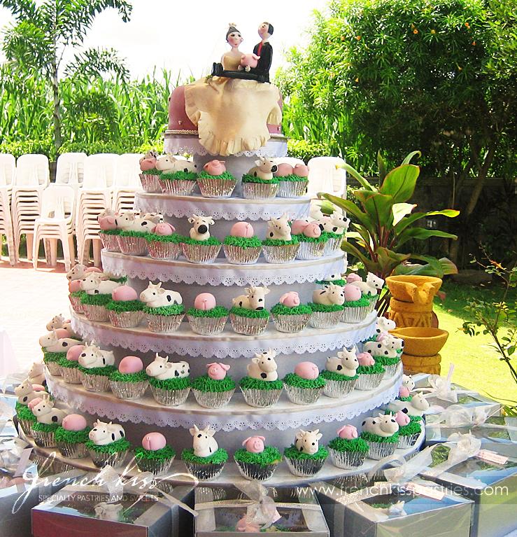 Fun Unique Cupcake Wedding Cakes
