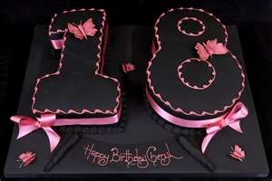 Funny 18th Birthday Cakes