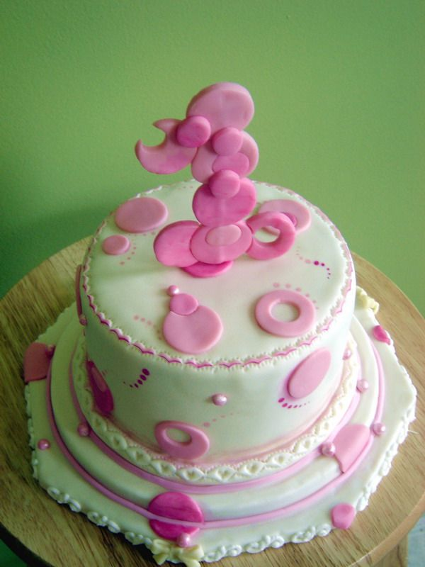 Cake Decorations For Baby S First Birthday : Baby Girl s 1st Birthday Cake Ideas Best Birthday Cakes