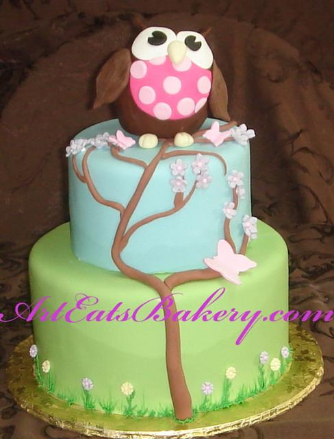 Green Tree Kids Birthday Cakes