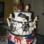 Halloween Tiered Cakes