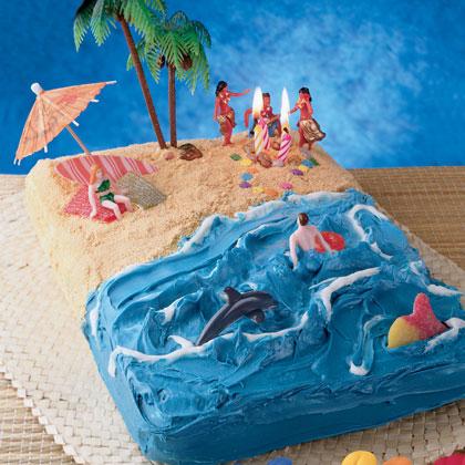 Hawaiian Beach Cake RecipeBest Birthday CakesBest Birthday Cakes