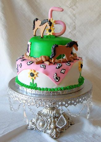 Horse Birthday Cakes Girls