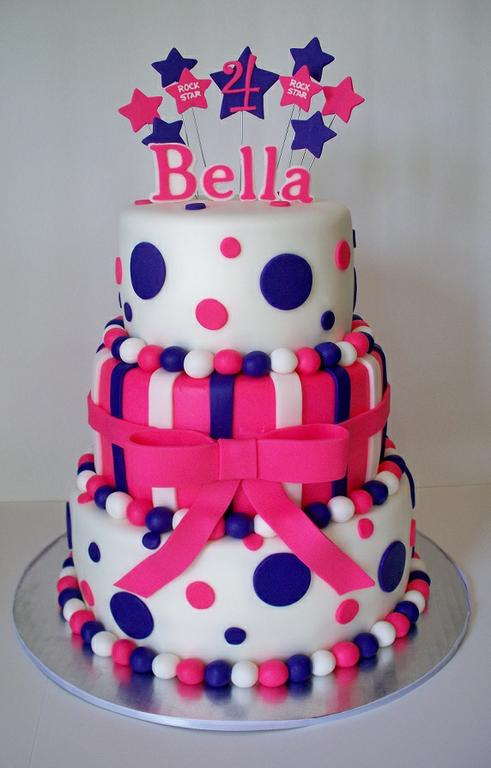 Awesome Hot Pink And Purple 21St Birthday Cakebest Birthday Cakesbest Funny Birthday Cards Online Overcheapnameinfo