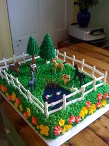 Ideas for Kids Horse Birthday Cake