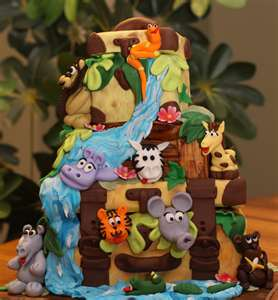 Jungle Theme Cakes Jungle Theme Cakes