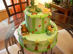 Jungle-Themed Baby Shower
