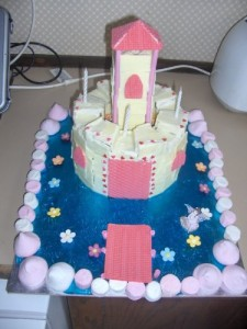 Little Girl's Castle Cake Recipe