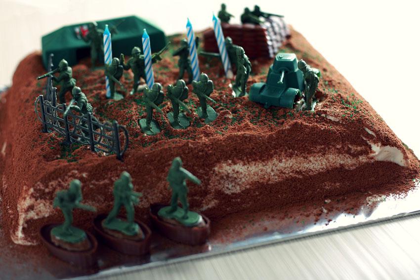 Military Birthday Cake Ideas