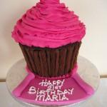 Football Birthday Cupcakes