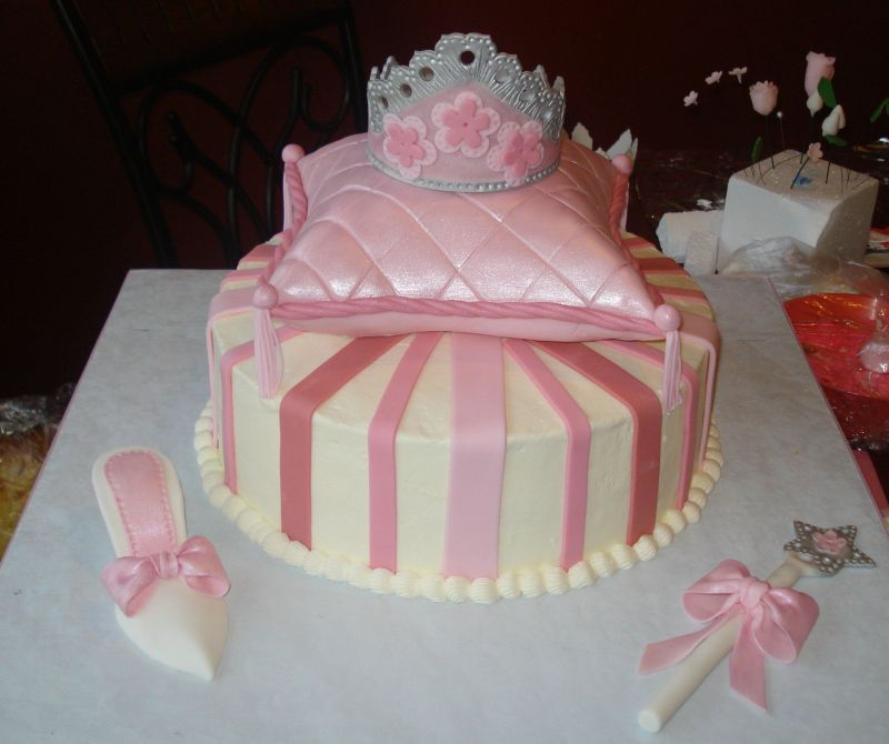 Princess Birthday Cake Pictures