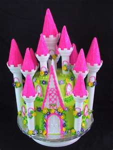 Princess Castle Birthday Cakes For Girls