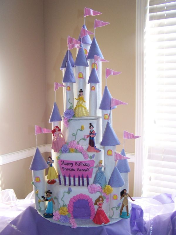 Princess Cake Design : Princess Castle Cake Ideas Best Birthday Cakes