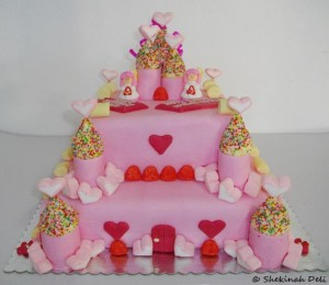Princess Castle Cake Recipe