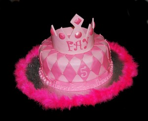 Princess Tiara Birthday Cake