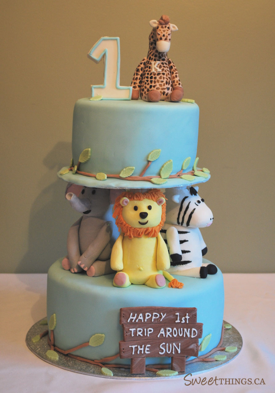 1st birthday cake images for boys
