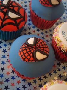 Spider Man Cupcake Pics