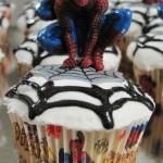 Spiderman Birthday Cupcakes