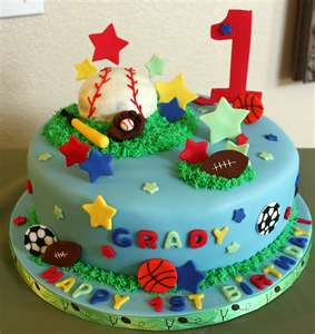 Sports Cakes Pictures Ideas