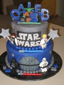 Star Wars Birthday Cake Ideas