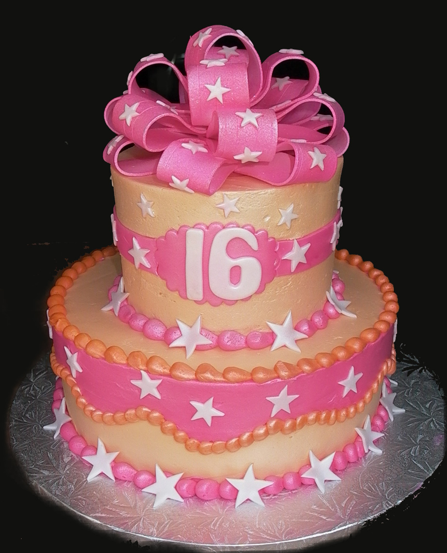 Sweet 16 Birthday Cakes » Sweet 16 Birthday Cake Ideas