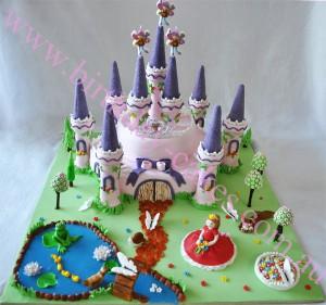 Sweet Castle Birthday Cake Design