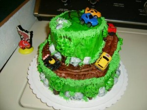 Themed birthday cakes for boys