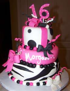 Topsy Sweet 16 Cake