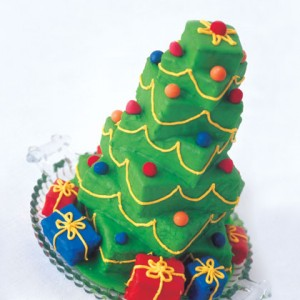 Towering Christmas Tree Cake Recipe