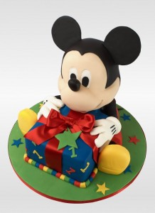 Mickey Mouse Birthday Cakes 218x300 Mickey Mouse Birthday Cakes