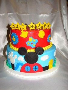 Mickey Mouse Birthday Cakes