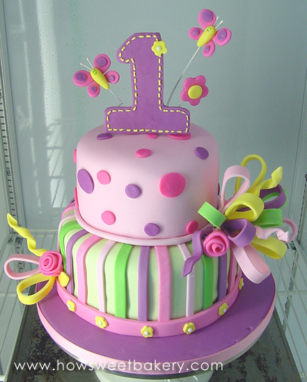 Cake Ideas For First Birthday Girl : 1St birthday cake ideas for girl