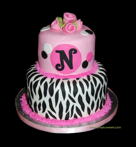 Zebra Birthday Cakes