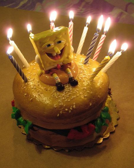 Pictures Of Birthday Cakes With Candles Lit : Wonderful Birthday Cake with Lit Candles Best Birthday Cakes